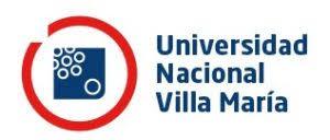 UNIVERSIDAD NACIONAL VILLA MARÍA
